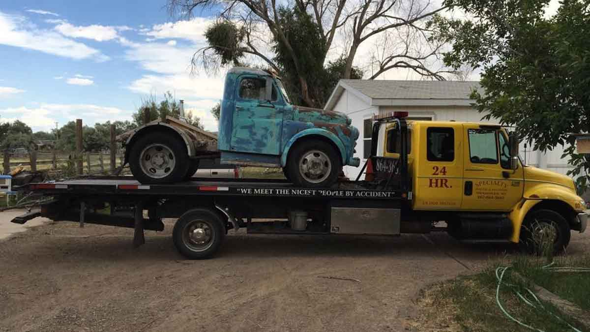 Worland, WY towing